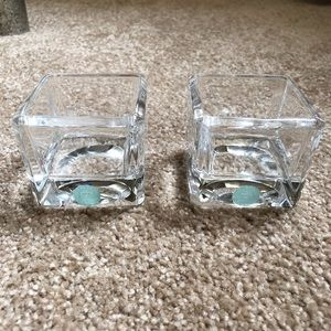 Tiffany and co. Glass jars 2